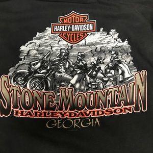 Harley Davidson Stone Mountain Pocket Tee Sz 2XL